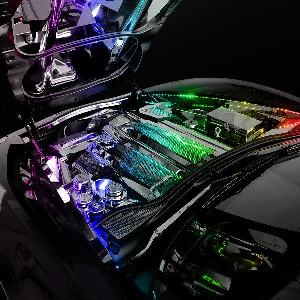 Oracle lighting engine bay lighting led strip kit oracle lighting 48 engine bay lighting multicolor led strip kit aloadofball Image collections