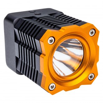 "Oracle Lighting® - XM-L Series 2"" 10W Square Black/Yellow Housing LED Light"