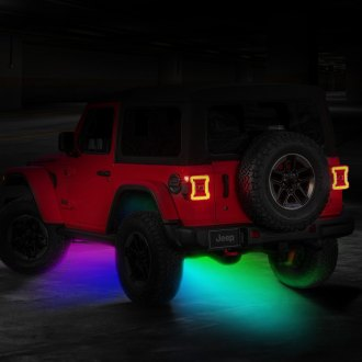 Oracle Lighting® - Bluetooth RF Multicolor LED Rock Light Kit