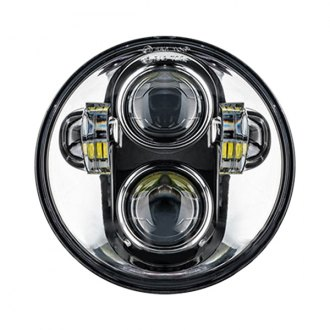 "Oracle Lighting® - 5 3/4"" Round Chrome Projector LED Headlight"