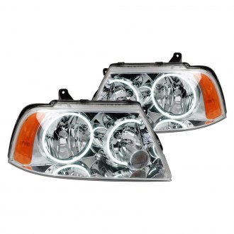 Oracle Lighting® - Chrome Factory Style Headlights with Color Halo