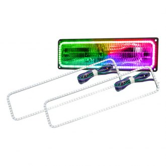 Oracle Lighting® - Color Halo Kit Square Design for Headlights