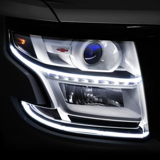 Toyota rav4 daytime running lights drls led custom replacement oracle lighting 18 white led accent drl flexible strips mozeypictures Choice Image