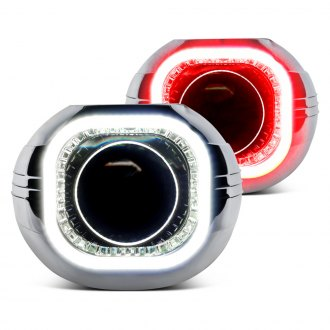 Oracle Lighting® - Chrome Square Lens D2S Projectors