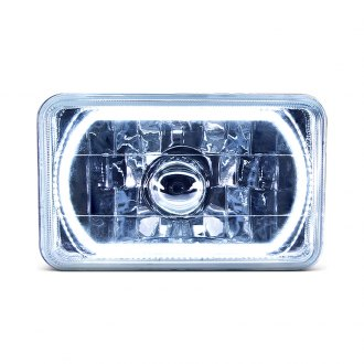 "Oracle Lighting® - 4x6"" Rectangular Color Halo Headlight"