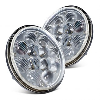 "Oracle Lighting® - 5 3/4"" Round Full LED Halo Headlights"