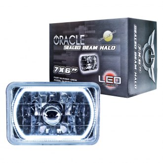 "Oracle Lighting® - 7x6"" Rectangular Color Halo Headlights"