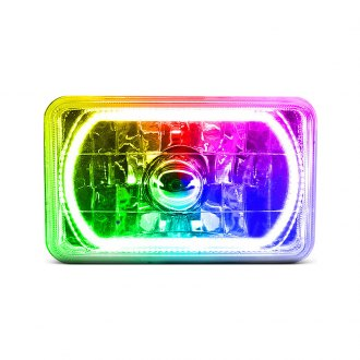 "Oracle Lighting® - 7x6"" Rectangular Color Halo Headlight"