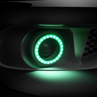 Oracle Lighting® - OEM Style Fog Lights with Square Ring Color Halo