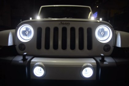 Oracle Lighting® Jeep Wrangler Sahara With Oracle Products (HD)