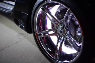 Oracle Lighting® - LED Illuminated Wheel Rings Mercedes Benz SL-550