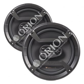 "Orion® - 6-1/2"" 3-Way Cobalt Series 300W Coaxial Speakers"