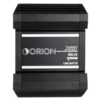 Orion® - XTR Series Class D Mono 650W Amplifier