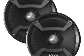 "Orion® - 6.5"" Cobalt Series 600W Midrange Speakers with Grills"