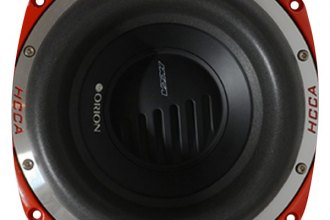 "Orion® - 10"" HCCA Series 4 Ohm 4000W DVC Subwoofer"