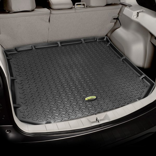 Image may not reflect your exact vehicle! Outland Automotive® - All Terrain Black Cargo Liner