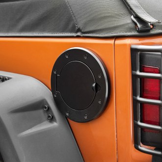 Outland Automotive® - Non-Locking Black Gas Cap Cover