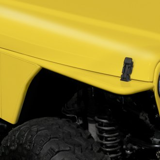 Outland Automotive® - RRC Tubular Steel Flat Fender Flares Kit