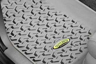Outland Automotive® - All Terrain 1st & 2nd Row Gray Floor Liners Set