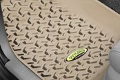 Image may not reflect your exact vehicle! Outland Automotive® - All Terrain 1st Row Tan Floor Liner