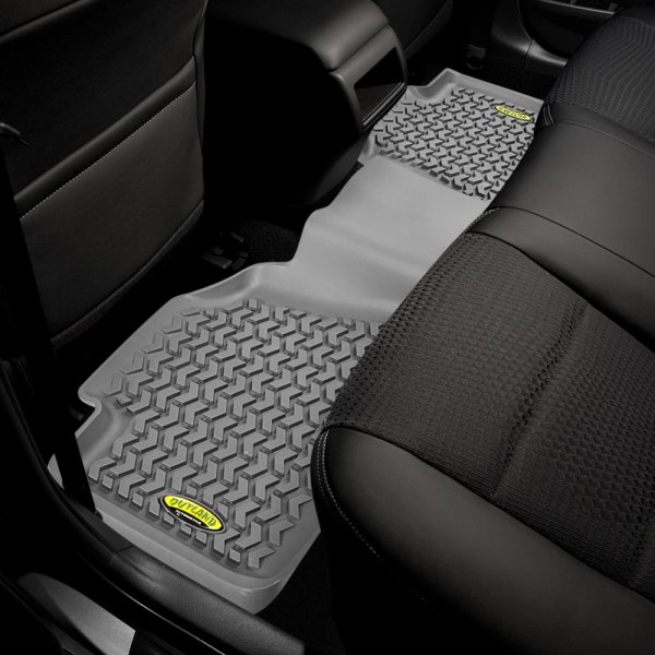 Outland Automotive® - All Terrain 2nd Row Gray Floor Liner
