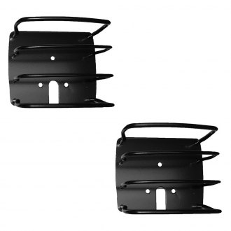 Outland Automotive® - Black Euro Tail Light Guards