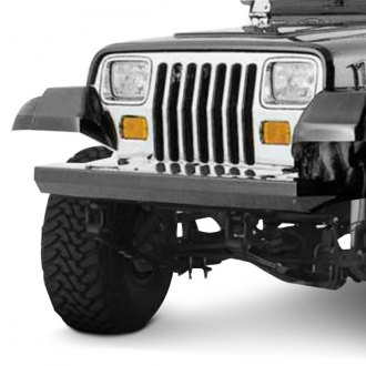 Outland Automotive® - Rock Crawler Full Width Black Front HD Bumper