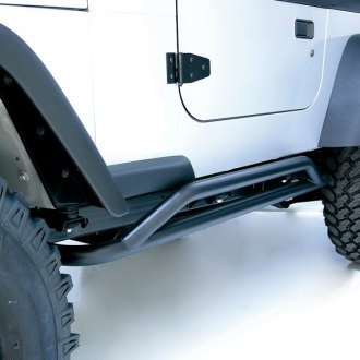 Outland Automotive® - RRC Series Black Rocker Guards