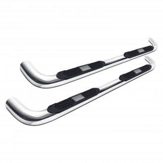 "Outland Automotive® - 4"" Polished Stainless Steel Tube Steps"