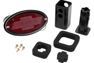 "Outland Automotive® - LED Hitch Brake Light with Bowtie for 2"" Hitch Receivers"