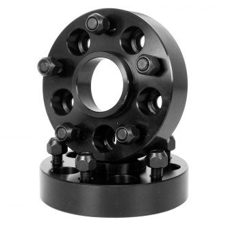 Outland Automotive® - Black Aluminum Wheel Adapters