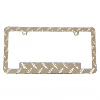 Owens® - Diamond Tread License Plate Frame