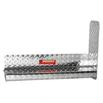"Owens® - 4"" Classic Pro Series Box Section Diamond Plate Running Boards"
