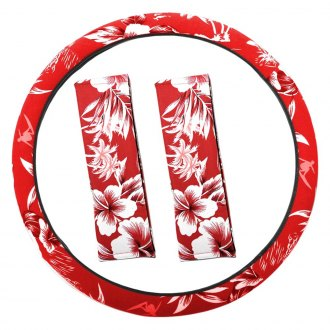 OxGord® - Hawaiian Style Steering Wheel Cover Set
