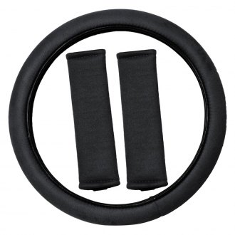 OxGord® - Memory Foam Steering Wheel Cover Set