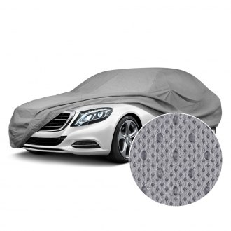 OxGord® - Economy Outdoor Gray Car Cover