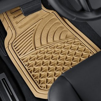 OxGord® - Sea Shell Style Rubber Floor Mats