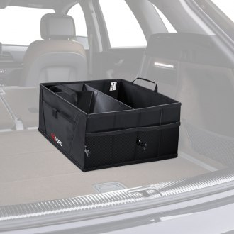 OxGord® HGTB-02 - Black Trunk Organizer Caddy