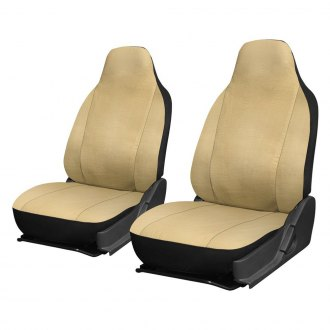 OxGord® - Faux Leather Integrated Seat Covers