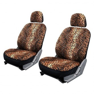 OxGord® - Animal Print Velour Seat Cover Set