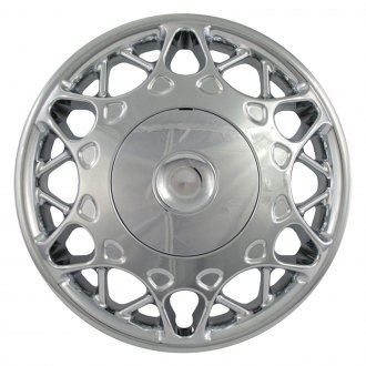 "OxGord® - 15"" Chrome Wheel Covers"
