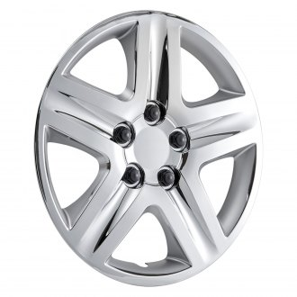 "OxGord® - 16"" 5 Spokes Chrome Wheel Covers"
