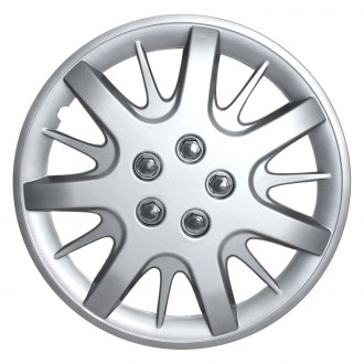 "OxGord® - 16"" Silver Wheel Covers"