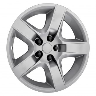 "OxGord® - 17"" Silver Wheel Covers"