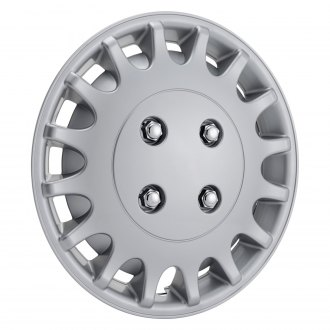 "OxGord® - 13"" Silver Wheel Covers"