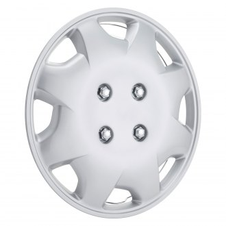 Oxgord 15 8 Holes Silver Wheel Covers