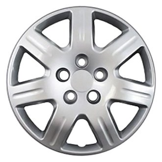 Oxgord 16 7 Spokes Silver Wheel Covers