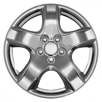 "OxGord® - 14"" 5 Spokes Chrome Wheel Covers"