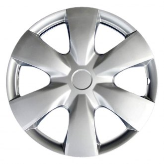 "OxGord® - 15"" 6 Spokes Silver Wheel Covers"