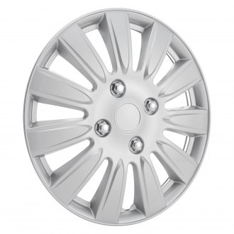 OxGord® - 15'' 11 Spokes Silver Wheel Cover Set